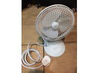 """Small Desk Fan 6"""""""