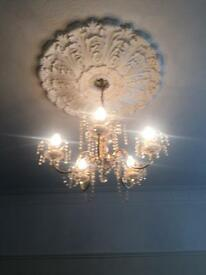 Chandelier type light