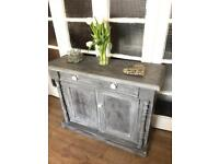 Vintage cupboard/chest free delivery Ldn shabby chic tv stand