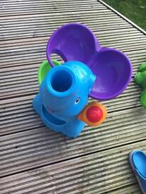 Elephant popping playskool game with six balls