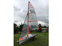 sailing dinghy ovington 29er may px