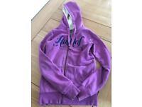 Animal zipped hoodie