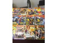 streetfighter magazines mostly from the 90s