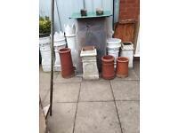Choice of Chimney pots.