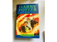 Harry Potter and the Half-blood Prince by J. K. Rowling - 1st Edition - HB