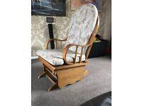 Wooden Glider Chair