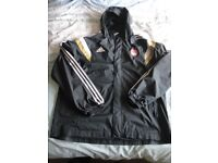 Aberdeen FC mens XL adidas jacket used but still in great condition