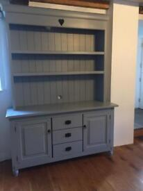 HARDWOOD PAINTED DRESSER