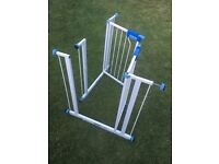 Set of Two Lindam Easy Fit Stair Gates - Great Condition