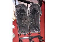 Double Pushchair- Excellent condition