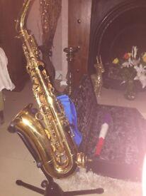 Saxophone Conn DJH modified Alto Sax with cert 108m