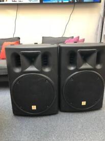 The Box by Thomann PA502P pair of full range passive speakers