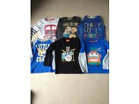 AGE 3-4 - TOPS BUNDLE - INC HOODIE AND CARDIGAN - ALL GREAT CONDITION.