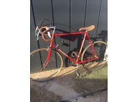 "New reconstruction holdsworth bike frame 63 "" very rare"