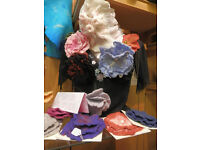 Hand made felted Brooches & Fascinators