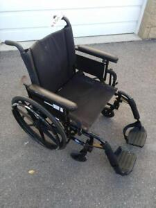 "#014  20"" Invacare Patriot manual folding wheelchair for ONLY $100"
