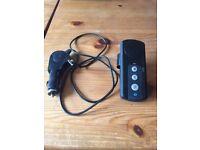 Hands free car speaker