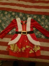 girls christmas party dress size 1-2