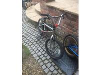 Two bmx for sale