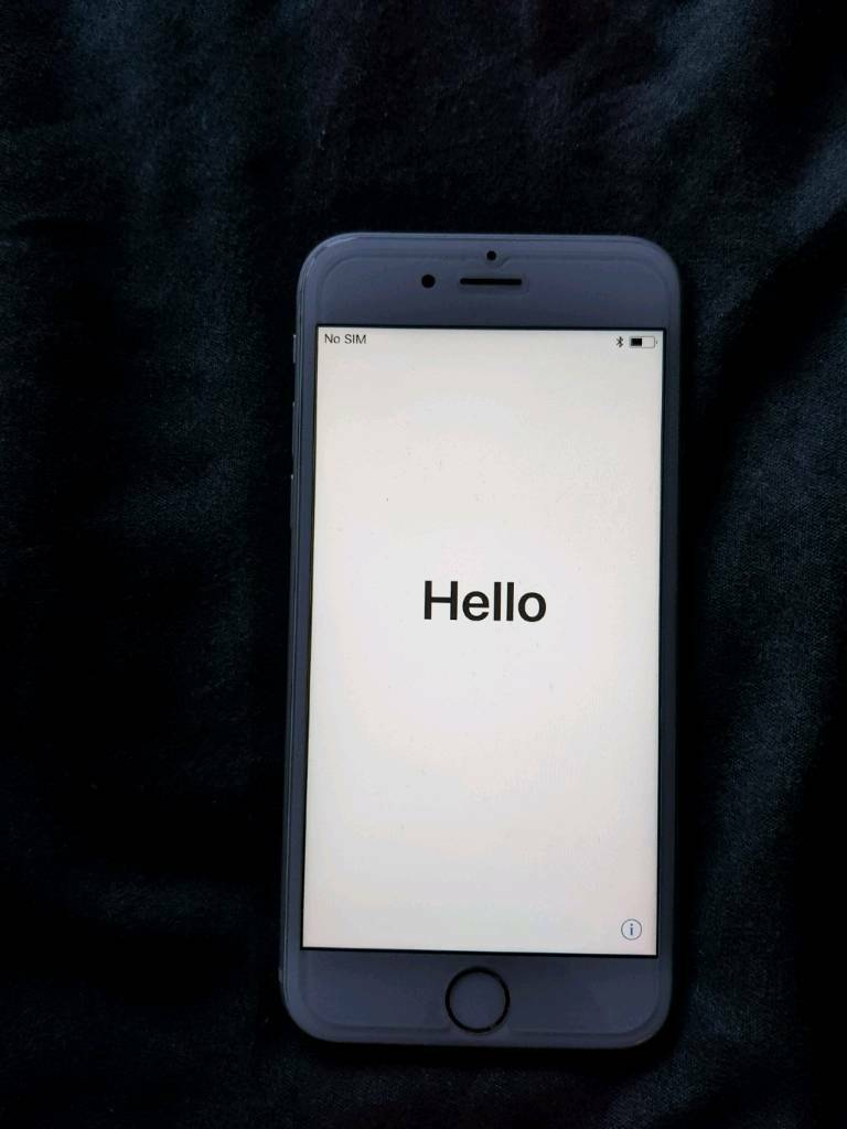 IPhone 6s 16g Silver Very Good Condition