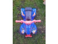 KIDS ELECTRIC RECHARGEABLE QUAD