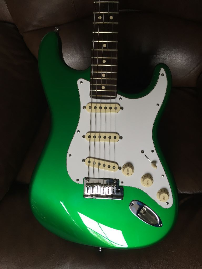 Candy Apple Green Fender Custom Shop Stratocaster In