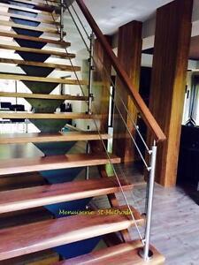 marches d'escalier fabriqué sur mesure