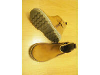 Next Toddler shoes for boys or girls for sale, size 4 tan leather, great condition,