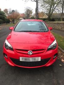 Vauxhall Astra 1.4 Turbo Limited Edition 2015 16000 miles Red fully loaded 1.9 2.0 1.6