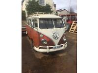 VW split screen samba bus