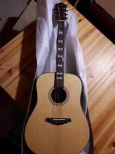 Christmas Gift ! Solid Top Cedar Acoustic Guitar 41 inch Full Size Brand New online guitar iTS9000