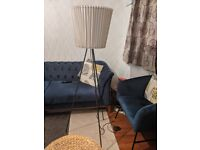 IKEA tripod floor lamp used