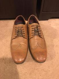 Topman Brogue style shoes Size 9
