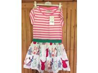 NEXT SET DRESS AND LEGGINGS AGE 8 BRAND NEW WITH TAG
