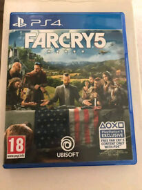 Far cry 5 - PS4 - As New