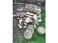 Garden rubble free to collector