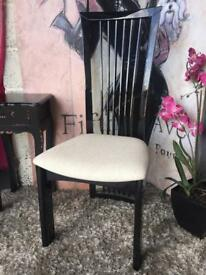 New High Gloss Black Occasional Chair