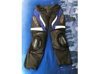 RST Razor leather trousers mens motorbike size 34