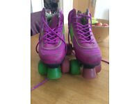 Rio leather roller boots