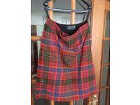 Macrae Tartan Kilt & Jacket & Accessories
