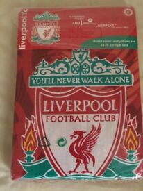 Liverpool FC Single Bed Set New