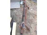 peugeot 206 none disc 2.0 hdi rear axle for refurb