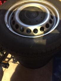 Volkswagen Transporter Wheels and Tyres