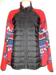 BRAND NEW / XL RALPH LAUREN ACTIVE SPRING JACKET / Gorgeous Native Print Red 16 / RLL Deadstock Unsold retail item NEW