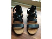 Clarks Original flat sandals size uk 5.5