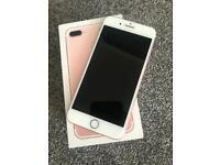 iPhone 7 Plus 256gb in rose gold (unlocked)