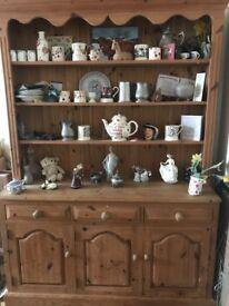 Large pine dresser for sale