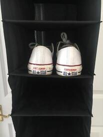 Flat pack shoe storage - space saver!