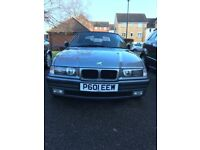 BMW E36 320i convertible 2.0 Petrol manual £1400or may part exchange or snap
