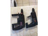 Bosch Hammer Drills sold as seen